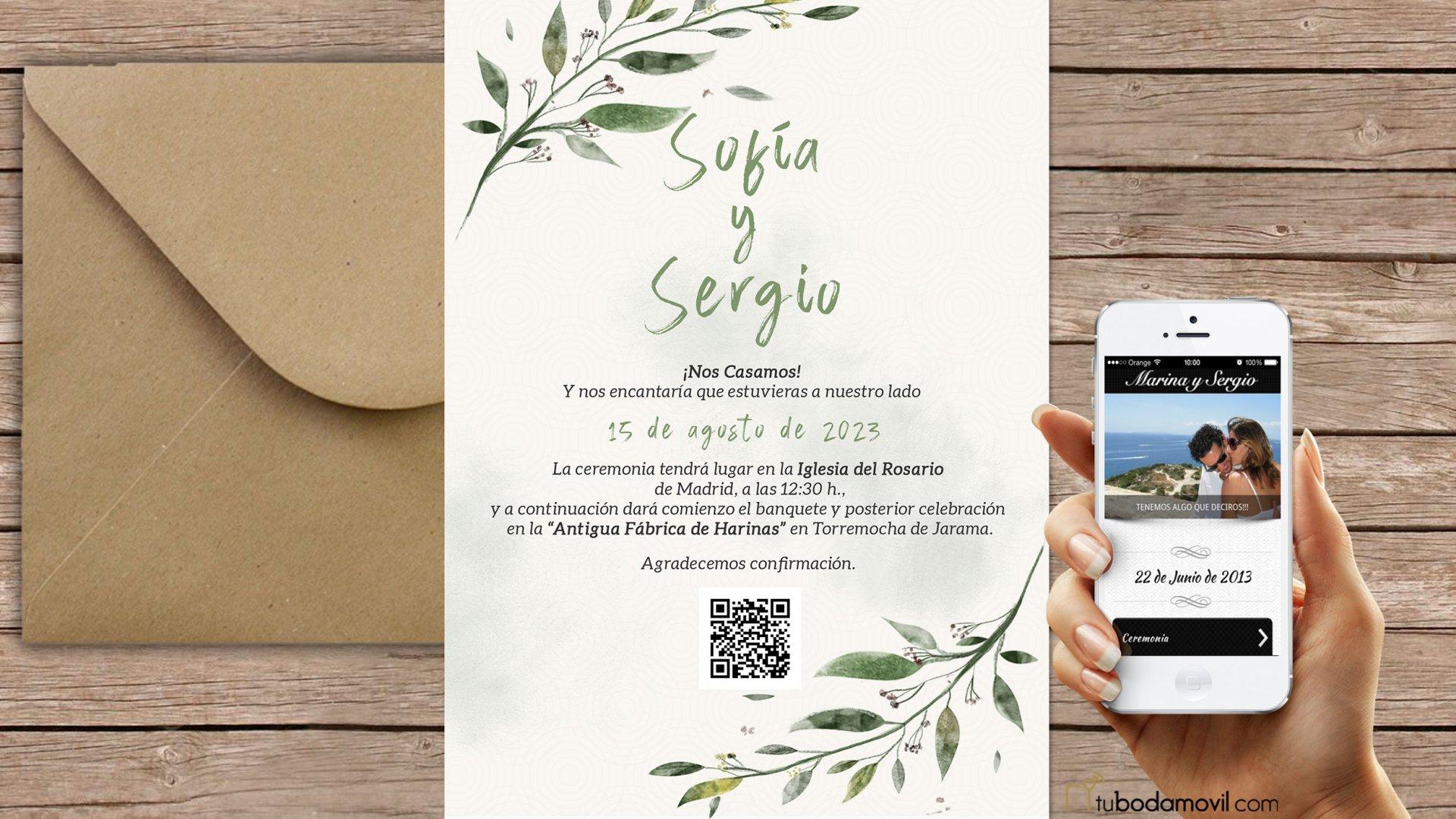 formatos de invitaciones de boda