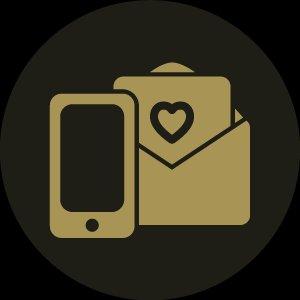 Invitaciones impresas + App