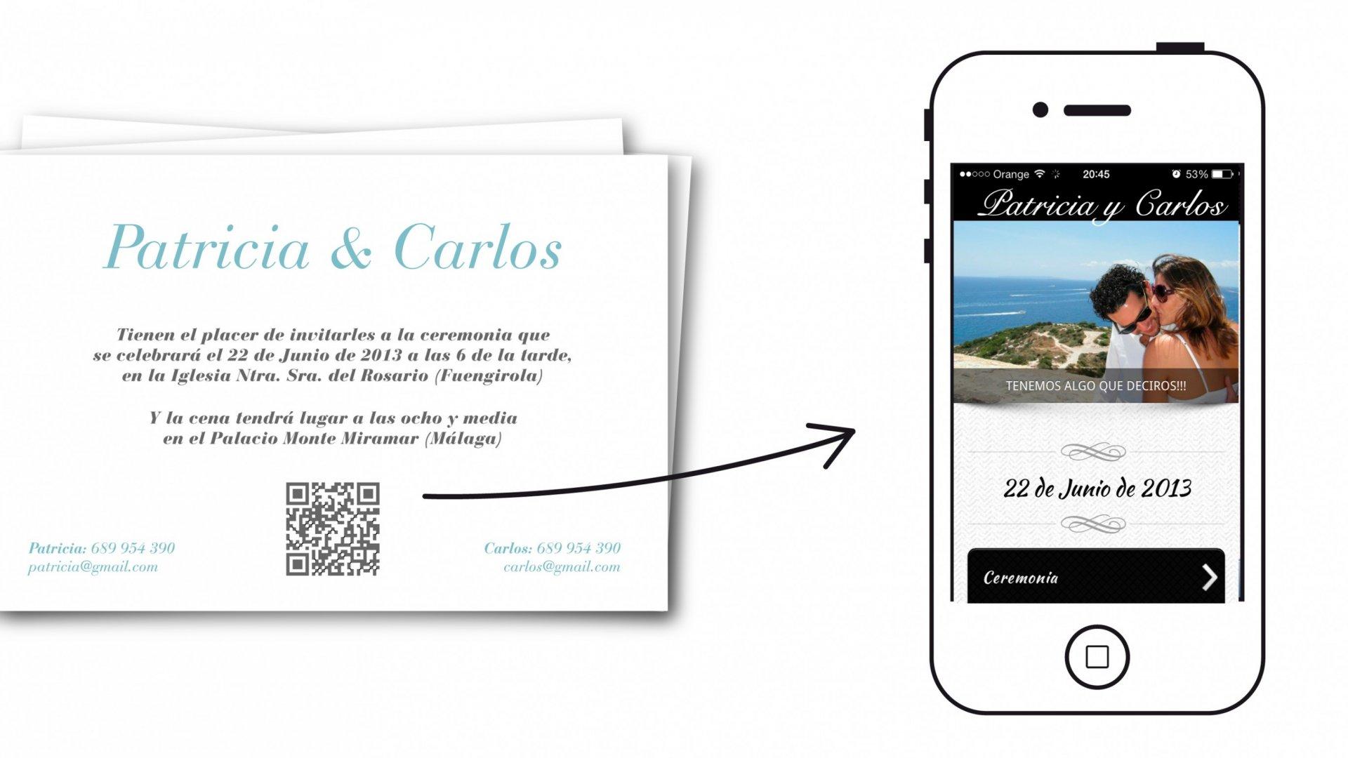 App para hacer invitaciones