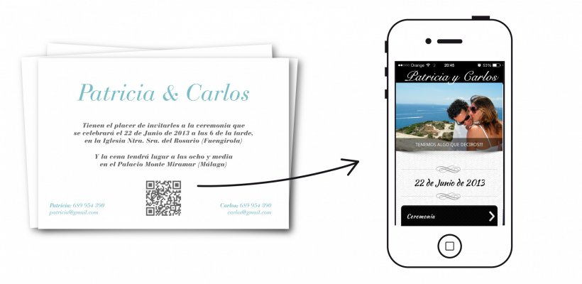 Razones para hacer una app de tu boda con invitaciones de boda