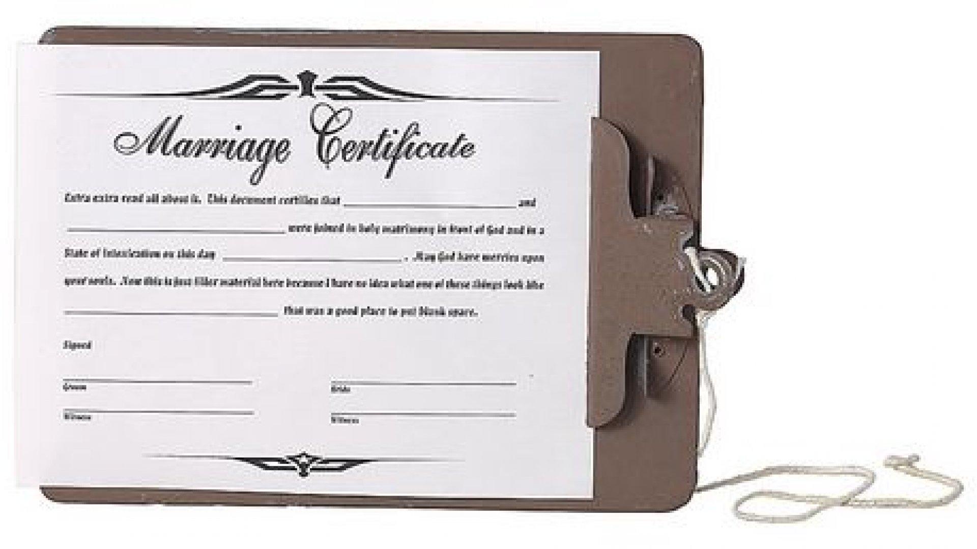 Documentos necesarios para el día de tu boda