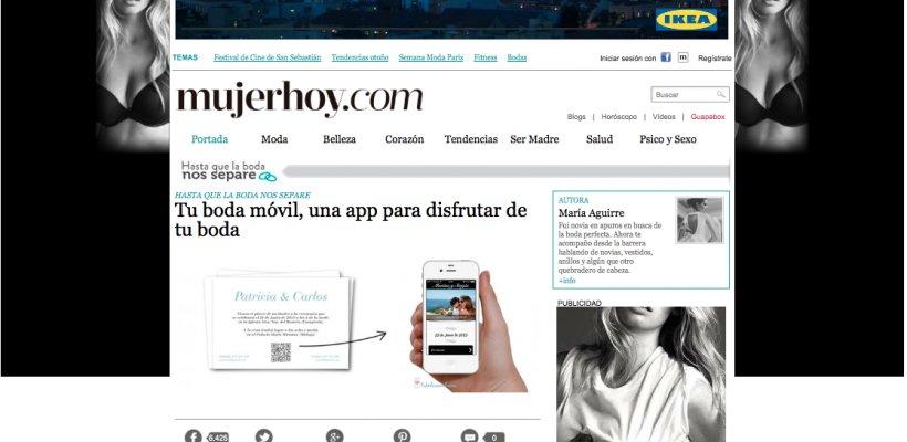 La Revista MujerHoy recomienda Tubodamovil.com