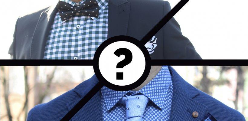 Decide entre corbata y pajarita para el día de tu boda