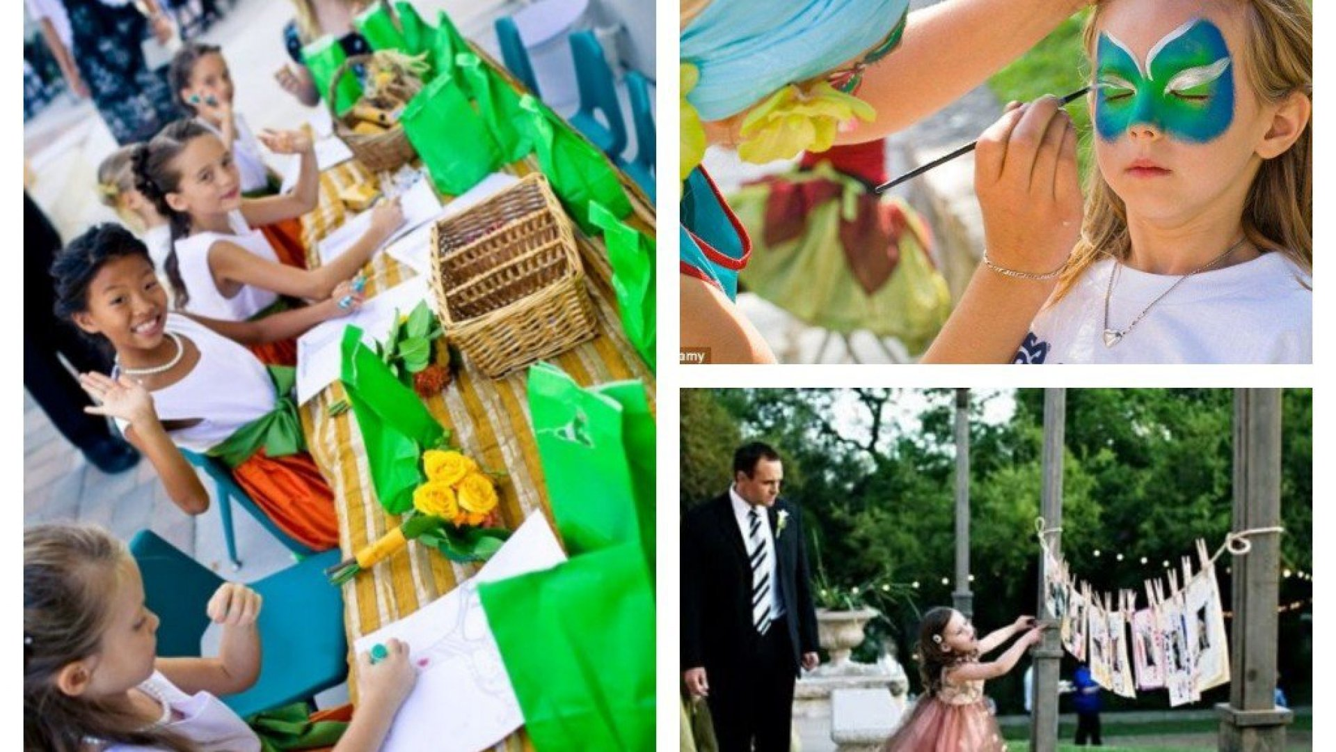 Entretén a los niños en tu boda