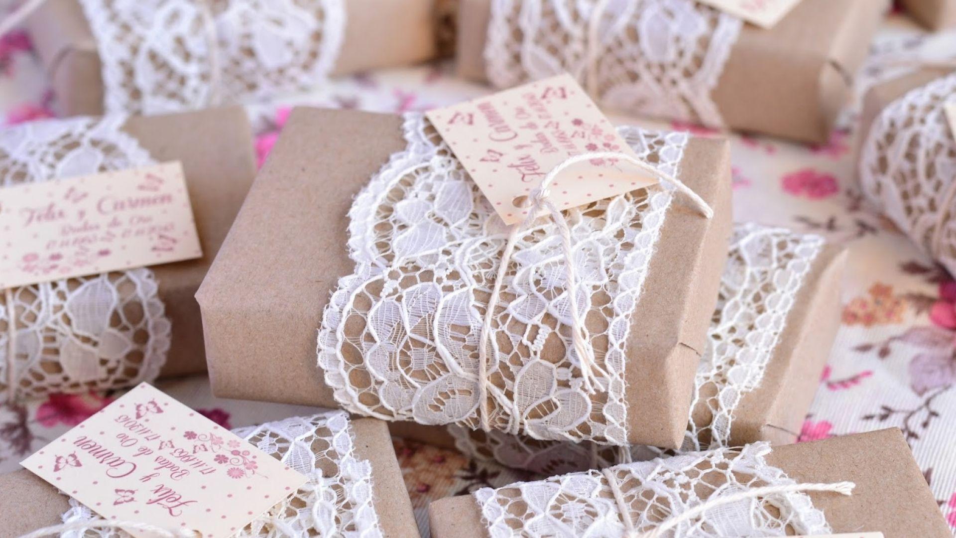 Ideas originales para regalar a tus invitados