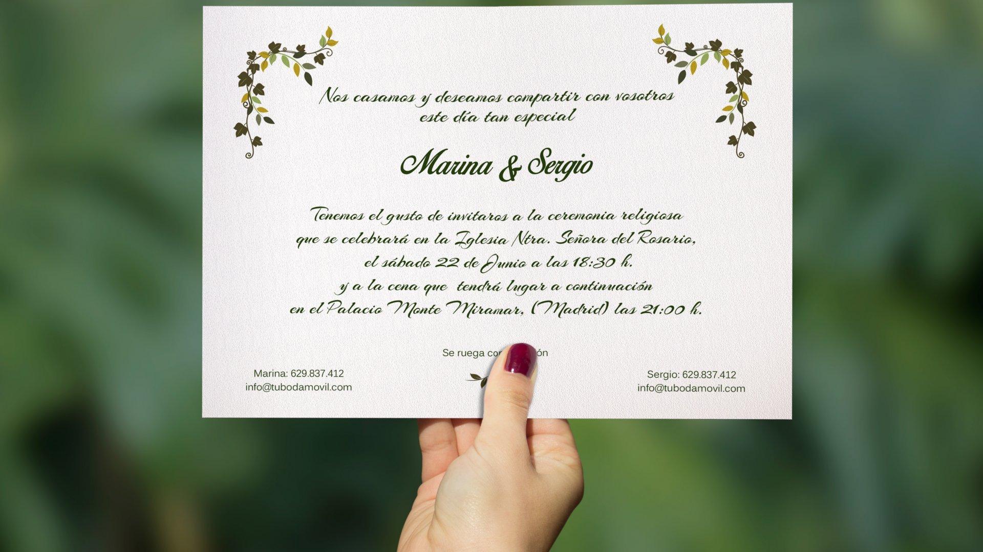Frases y citas de amor que puedes usar en tus invitaciones de boda